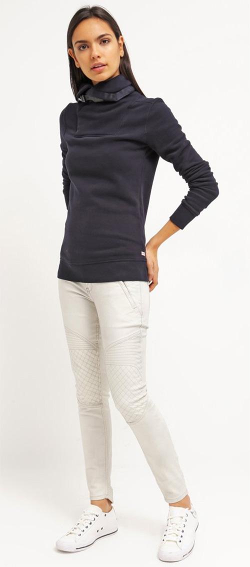 Sweatshirt femme G-star bleu marine