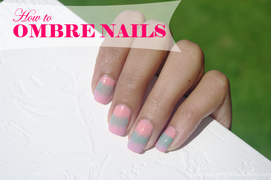 Ombre Nails, How to ombre nails