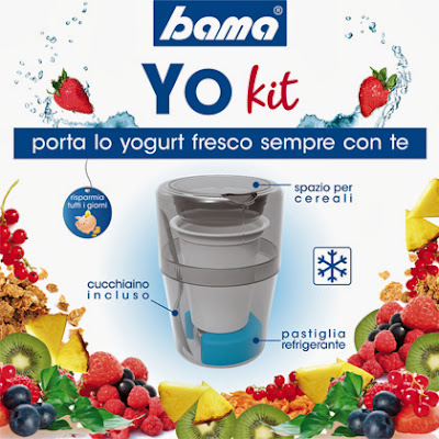 yo kit porta lo yogurt fresco sempre con te