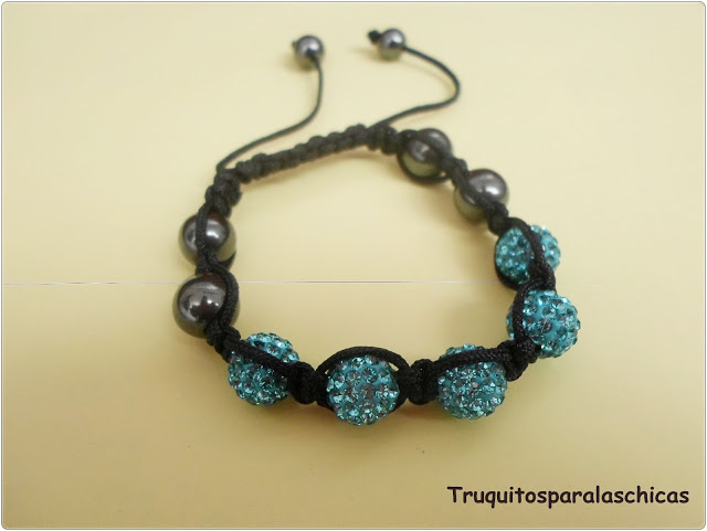 Pulsera Crystal-Balls Bracelet crazy factory