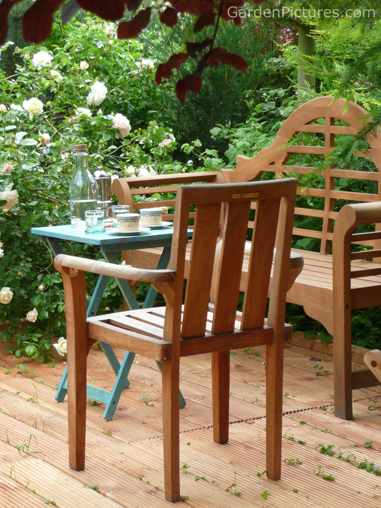 Creativedesign teak patio furniture for Teak wood patio furniture