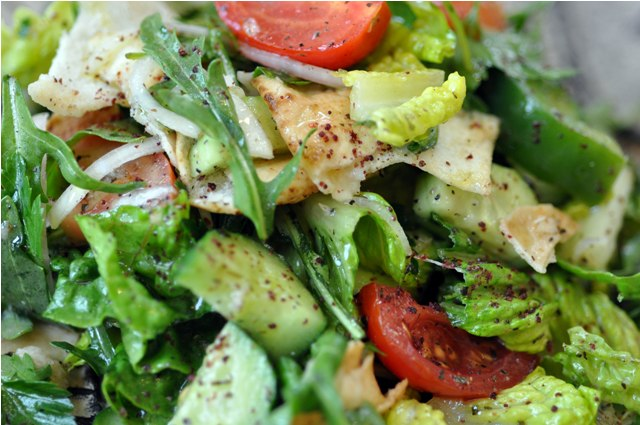 cakes craft & quilts: Fattoush Salad