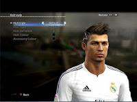 Download Hair Cristiano Ronaldo PES 2013