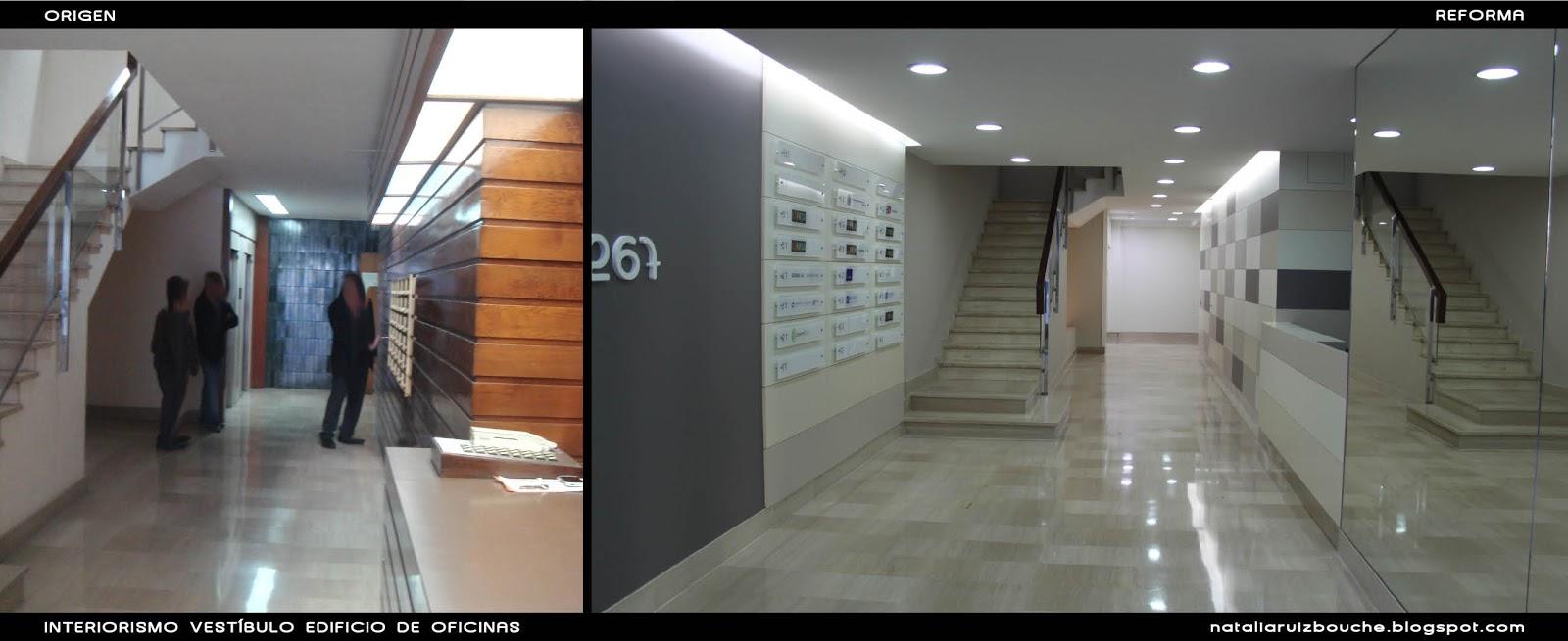 Natalia ruiz bouch reforma vest bulo edificio de for Oficina correos hospitalet