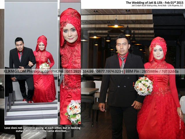 Contoh Kolase untuk 13 Foto dalam 4 Halaman Kolase Foto Wedding Jati Lilik - Foto oleh Klikmg Wedding Photography - Make Up & Wardrobe oleh : Tunjung Biru Wedding Organizer