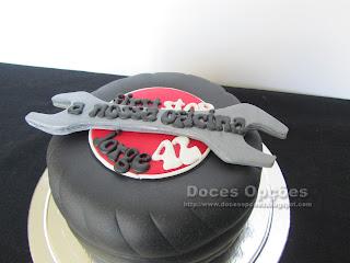 bolo aniversário oficina