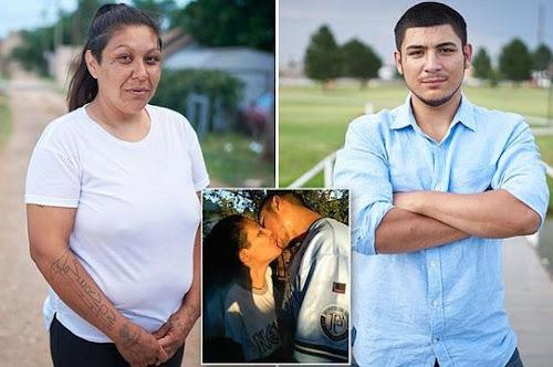 Mãe e filho são namorados e lutam para não serem presos.