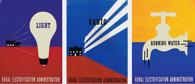 rural electrification administration lester beall modernism US advertising
