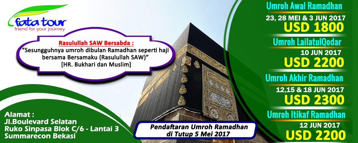 Fatatour 081384211114 | Umroh Murah Super Promo 17jt