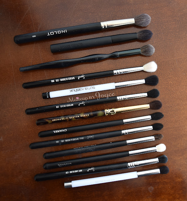 Pointed Blending Eye Brushes Review