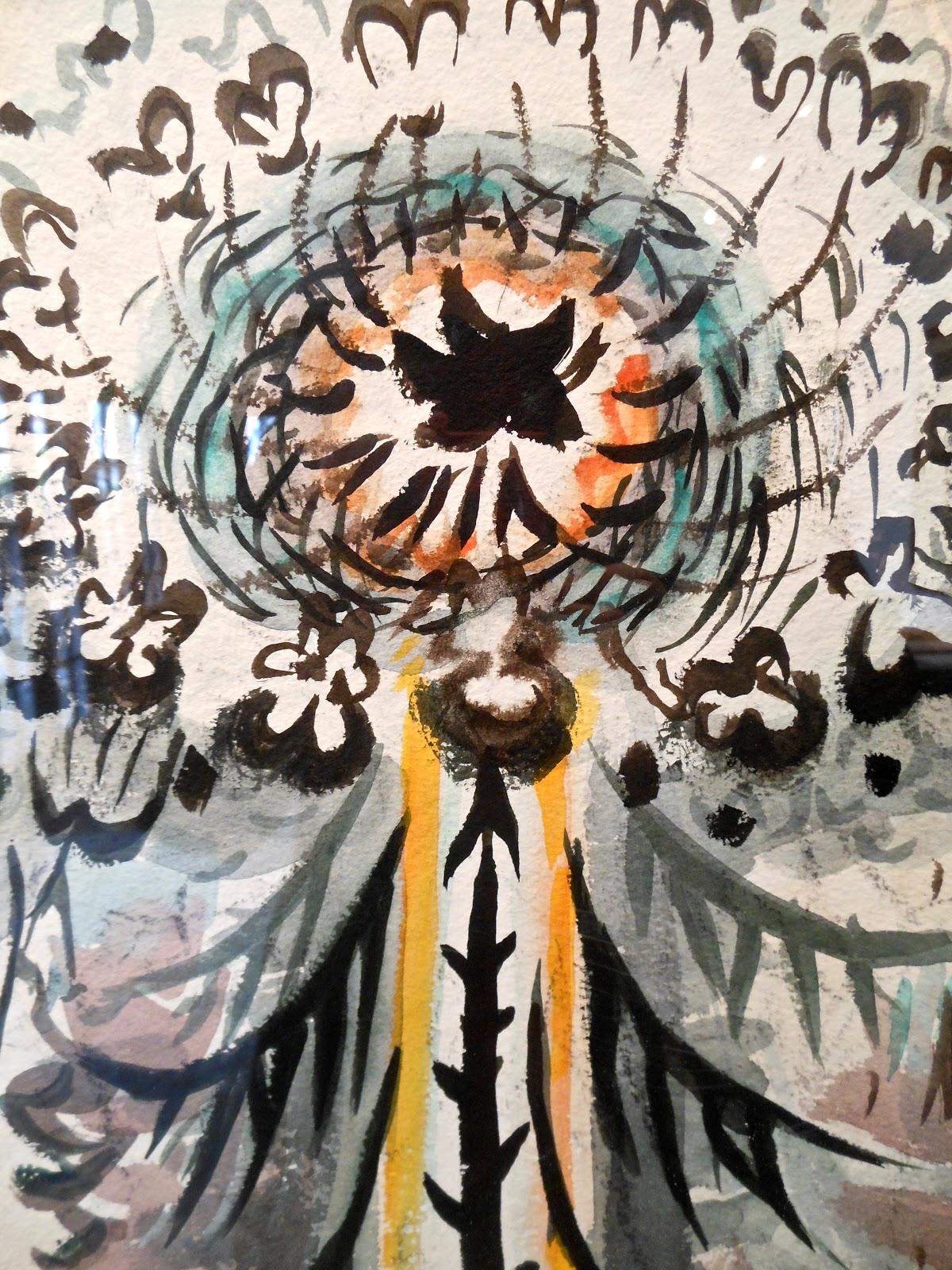 charles burchfield art - milk  - ☆ Milk ☆ 平平。淡淡。也是真。