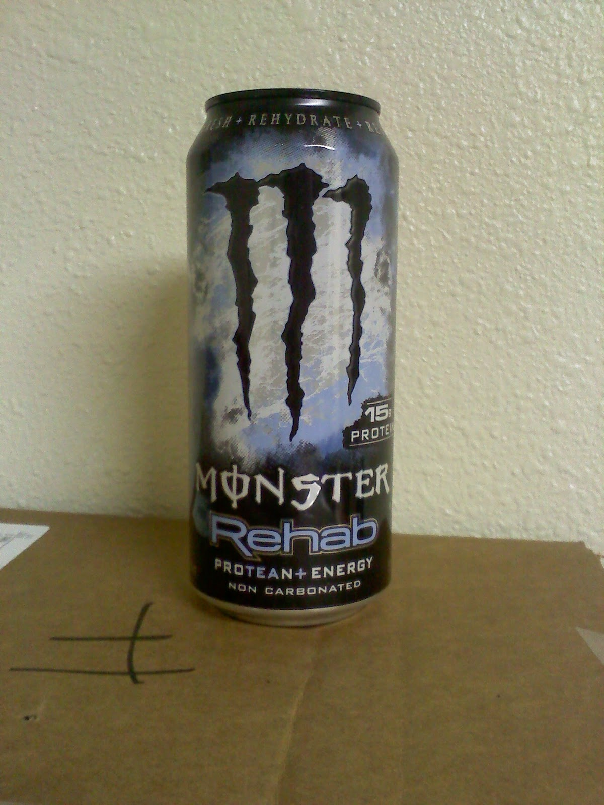 Monster Rehab Energy Drink Caffeine Content