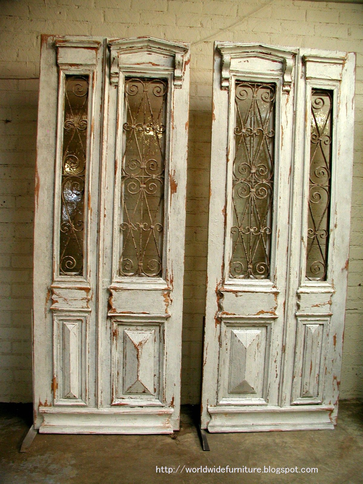 Wooden doors vintage wooden doors for sale for Double french doors for sale