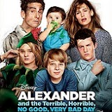Alexander and the Terrible, Horrible, No Good, Very Bad Day Will Arrive on Blu-ray on February 10th