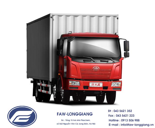 xe tải thùng faw