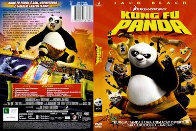 Filme Kung Fu Panda DVD Capa