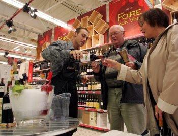 Foire aux Vins. Wine Festival
