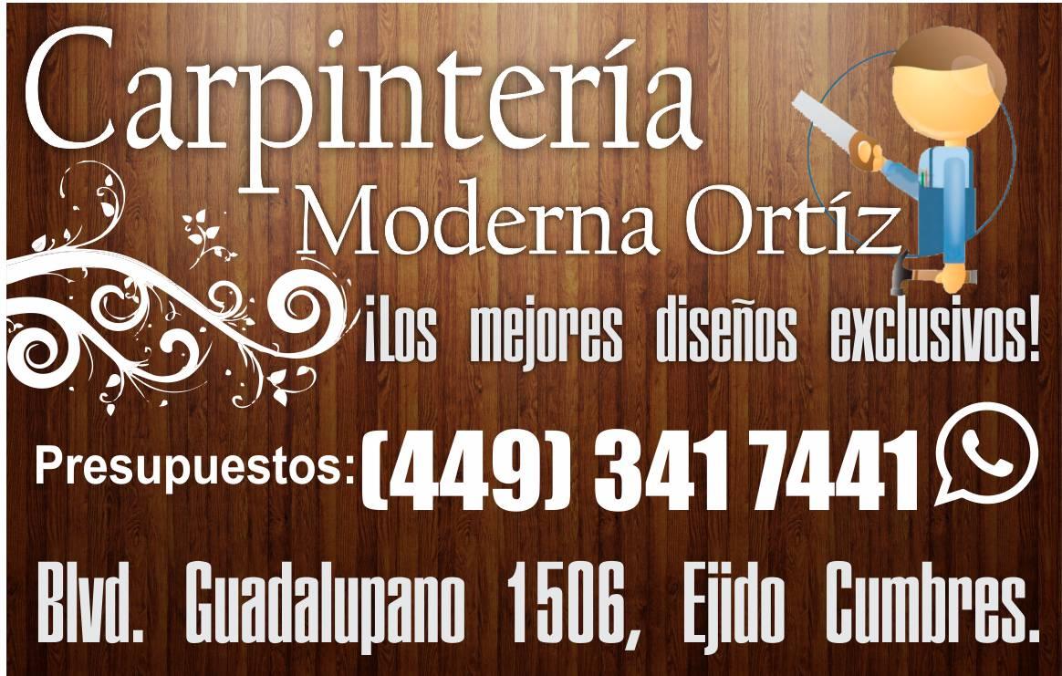 Carpintería Moderna Ortíz