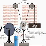 Make this Gravity LED Lamp Circuit