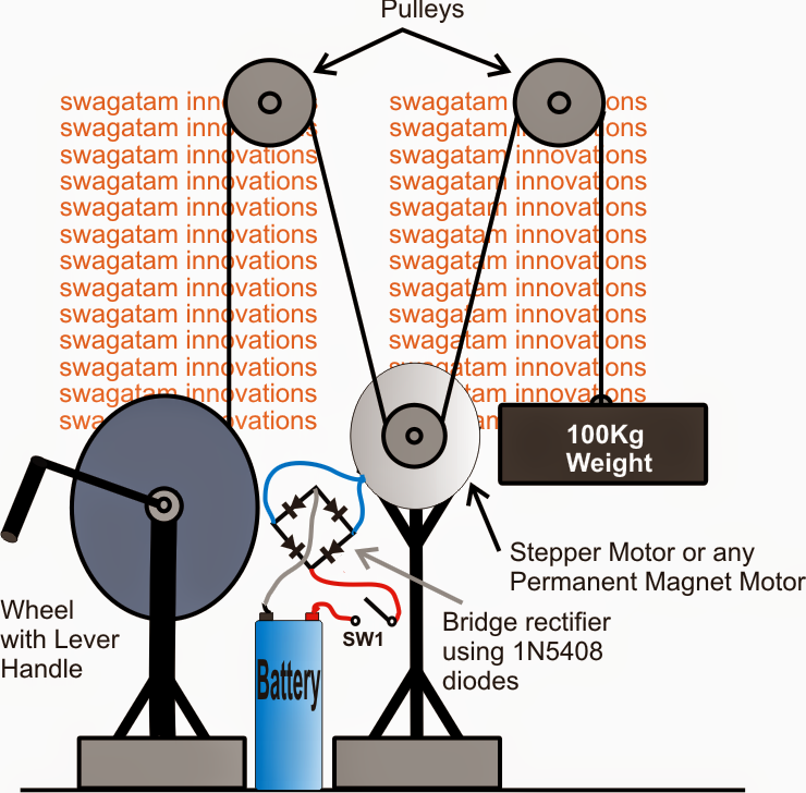 Gravity power generation Mechanism