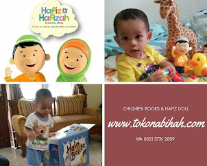 Cari Buku Anak atau Hafiz Doll?