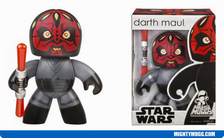 Darth Maul Star Wars Mighty Muggs Wave 1
