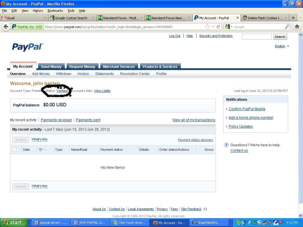 paypal account to bank account