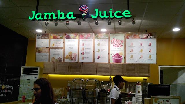 burgos eats,  JAMBA JUICE- healthy blends!