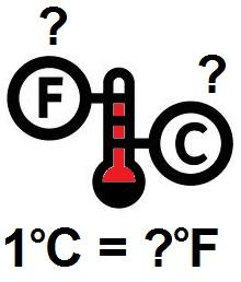 Berapa 1 Celsius ke Fahrenheit?