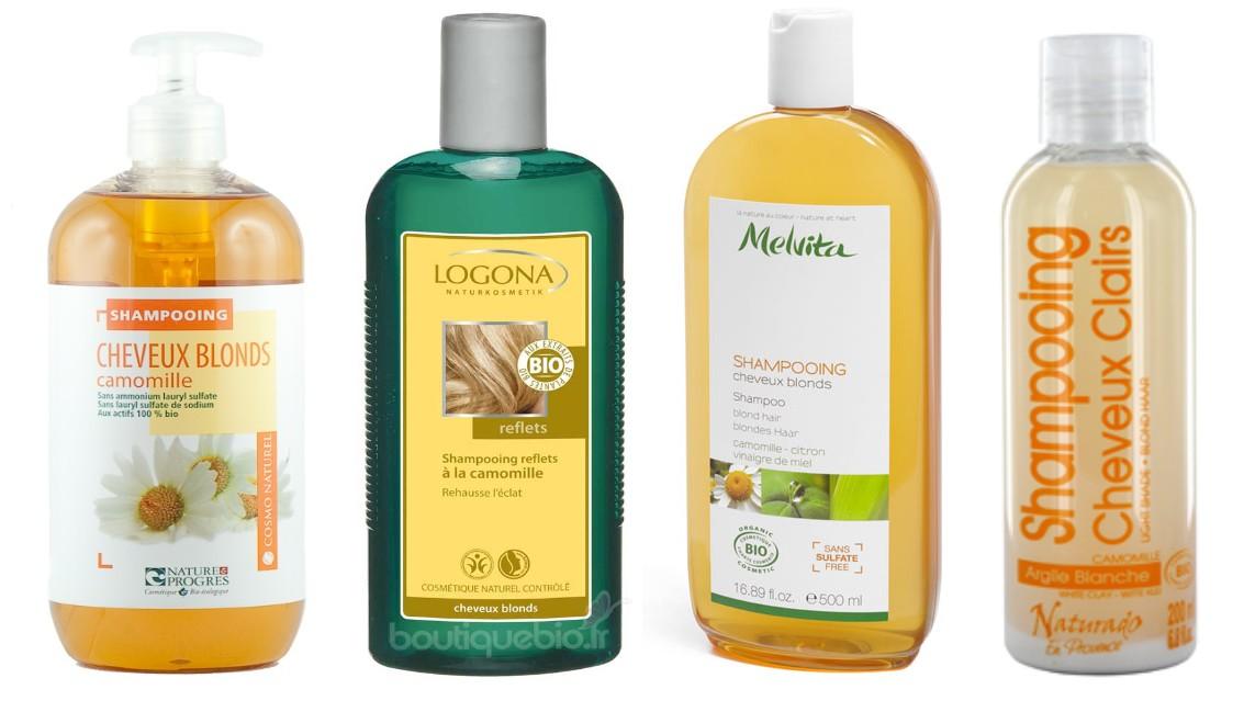 Meilleur shampoing pour cheveux blonds naturels