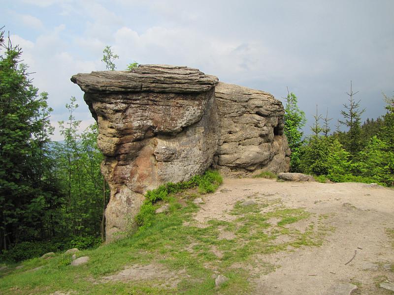 Wychodnie skalne na Kyrkawicy.