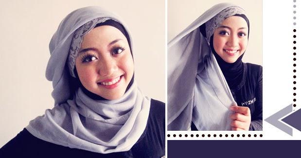 5 Cara Praktis Pakai Hijab Segi Empat Modern