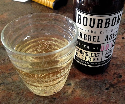 Smugglers' Reserve Bourbon Barrel-Aged Hard Cider | A Hoppy Medium