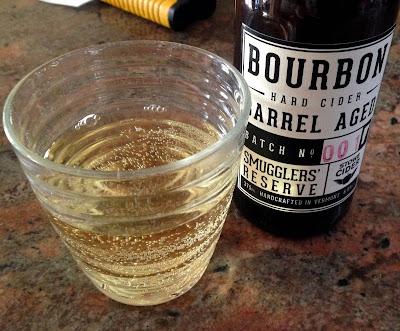 Smugglers' Reserve Bourbon Barrel-Aged Hard Cider   A Hoppy Medium