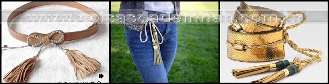 tassel franja cinto moda outono inverno 2012 primavera vero 2013