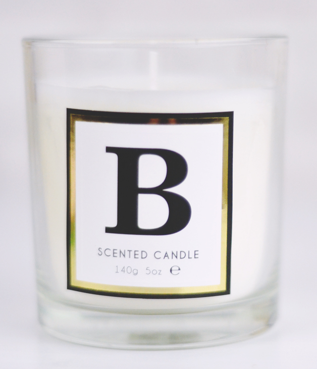 Marks & Spencer Initial Alphabet Candle