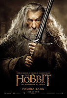 The Hobbit: The Desolation of Smaug -  Gandalf the Grey Character Poster Ian McKellen
