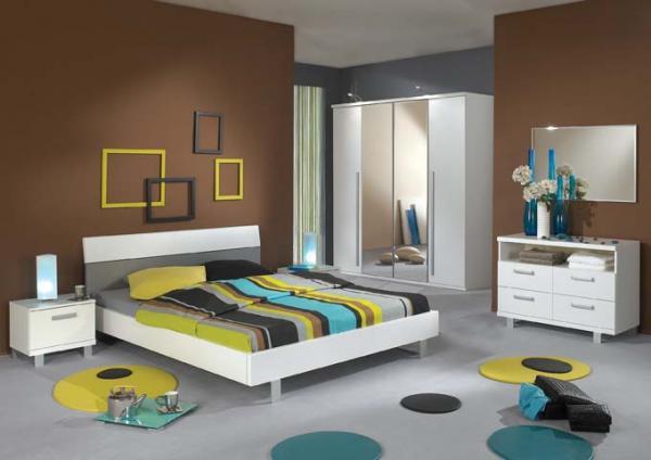 papier peint chambre adulte tendance idee couleur. Black Bedroom Furniture Sets. Home Design Ideas