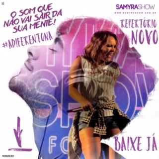 Samyra Show - CD Promocional de Julho - 2016