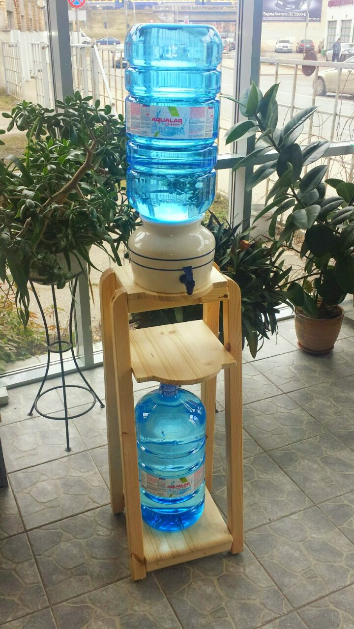 Ūdens statīvs ''Hilux eco LUX'' naturāls ( lakots )