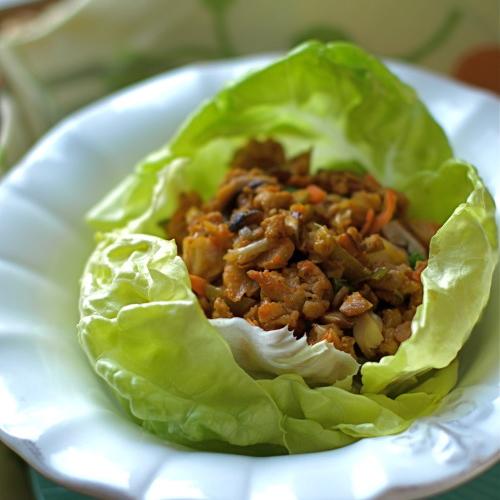 Guiltless Gourmet: Guiltless Gourmet- Lettuce Wraps