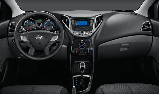 Hyundai HB20S sedã - painel