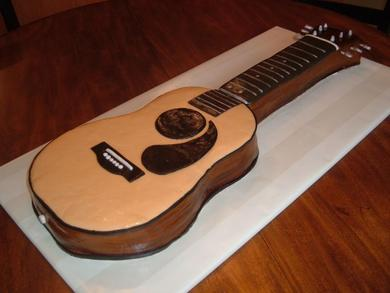 Guitar Cake Pictures : A Rose Designs Events: Groom s Cakes