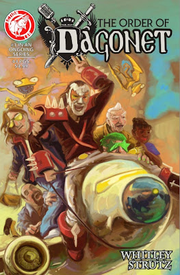 Cover of The Order of Dragonet #1 from Action Lab Comics