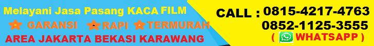 JASA PASANG KACA FILM GEDUNG SUNBLAST MOBIL HARGA TERMURAH