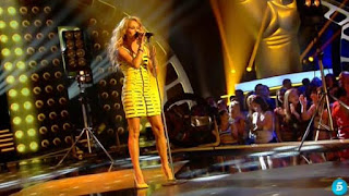 Paulina Rubio canta Mi nuevo vicio-La Voz 2015 Semifinales