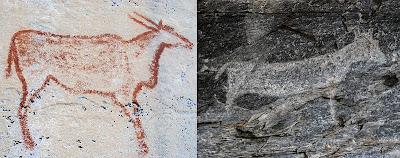 Tsodilo Bölgesi Kaya Resimleri
