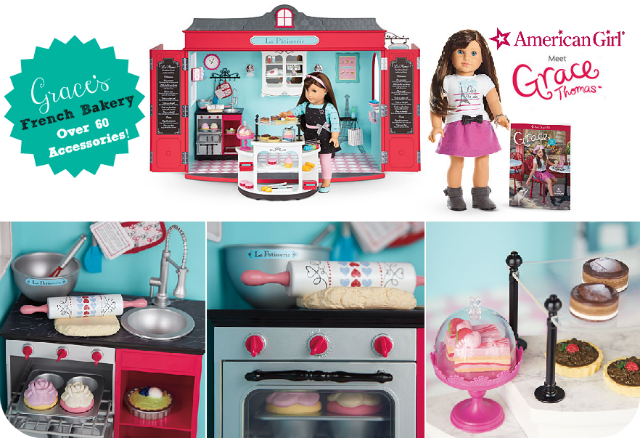 american girl always incorporates an initiative into their girl of the year this year keeping with the theme of entrepreneurship and baking american girl