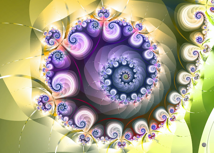 spiralée pastel