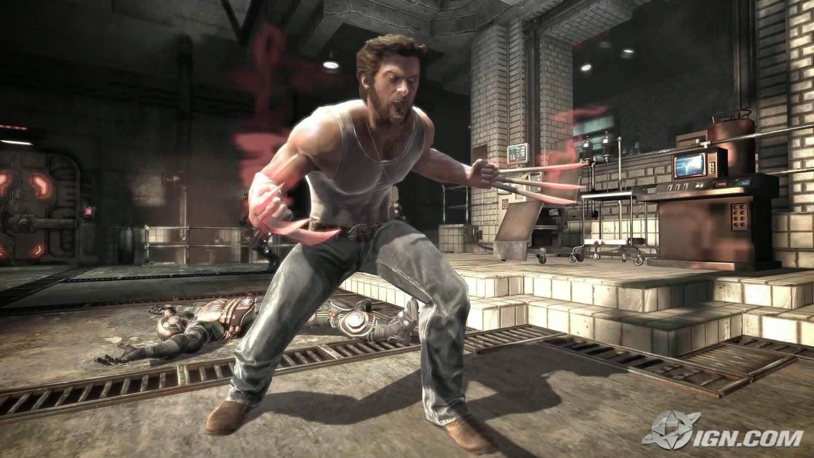 X-Men Origins Wolverine Game - Pcgamecloud